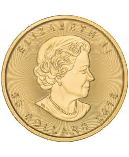 2018 Canadian Maple Leaf Gold Coin