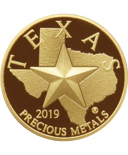 2019 Texas Gold Round *Box of 10* (SEALED)