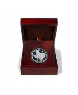 2020 Texas Silver Round with Wooden Display Case *Texas Edition*