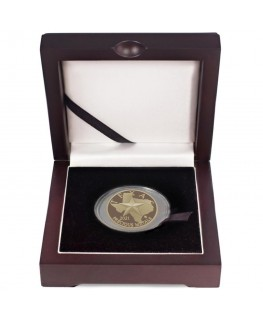 2021 Texas Gold Round with Wooden Display Box