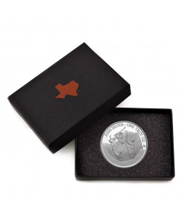 2021 Texas Silver Round with Custom Box