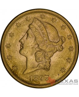 $20 Liberty Gold Double Eagle - XF (Dates Our Choice)