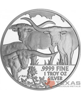 2014 Texas Silver Round Mini-Monster Box (250 ozs)