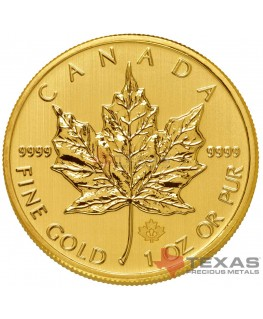 2014 Canadian Maple Leaf Gold Coin