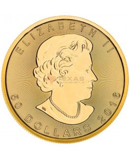 2016 Canadian Maple Leaf Gold Coin