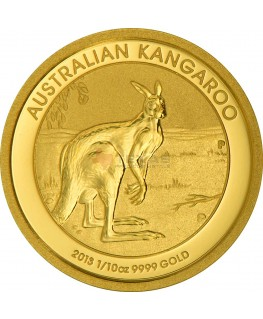 1/10 oz Australian Gold Kangaroos (Any Year)