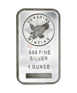 1 oz Sunshine Mint Silver Bars