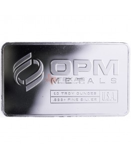 10 oz OPM Silver Bars