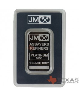 1 oz Johnson Matthey Platinum Bars