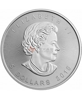 2015 Canadian Silver Maple Leaf Coin