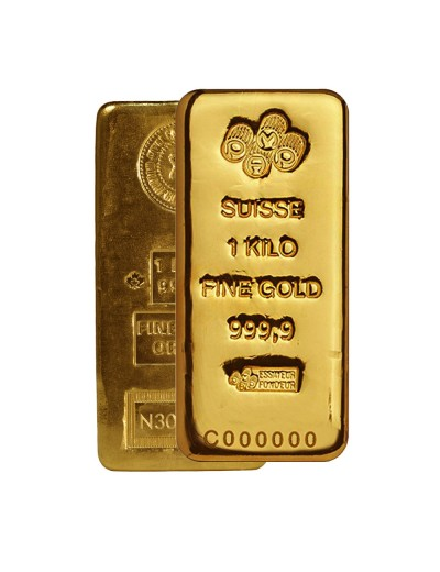 1 kilo Any Mint Gold Bar (32.15 ozs)