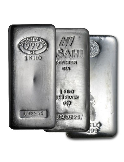 1 Kilo Silver Bar (Varied Condition - Mint of Our Choice)
