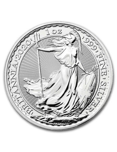 2020 Royal Mint Silver Britannias