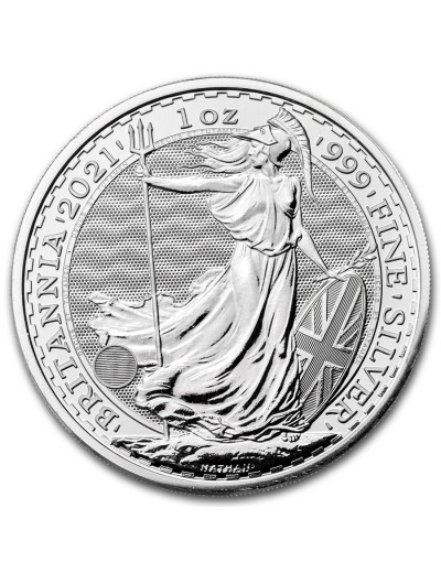 2021 Royal Mint Silver Britannias