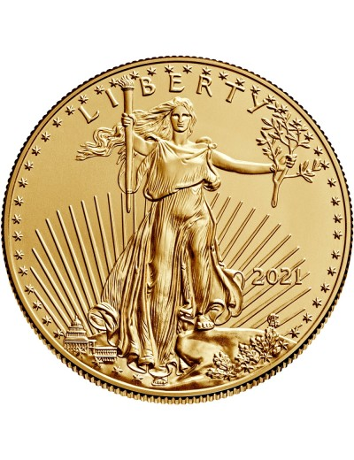 2021 American Gold Eagle Coin