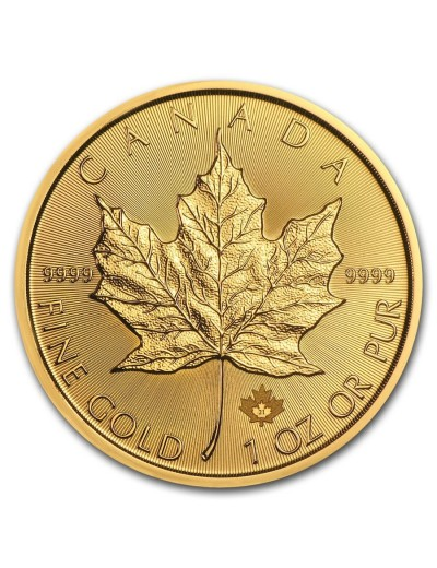 2021 Canadian Maple Leaf Gold Coin