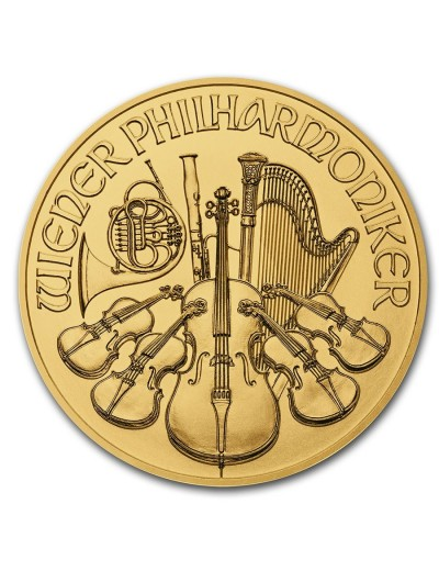 1/2 oz Austrian Gold Philharmonic Coin (Any Year)