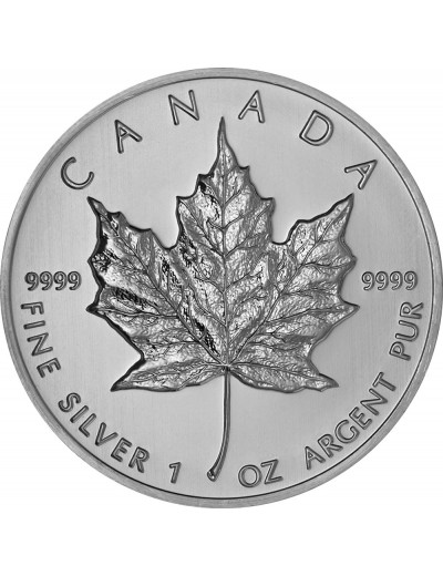 Canadian Maple Leaf Silver Coin (Any Year)