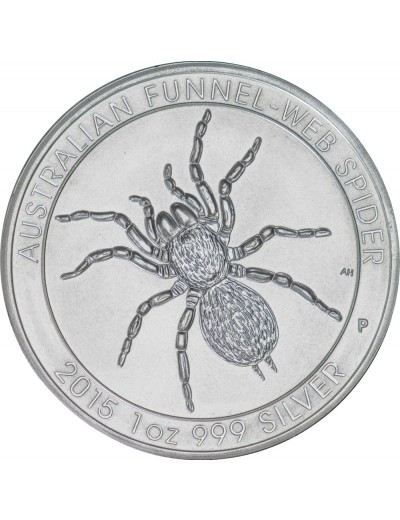 2015 Perth Mint Silver Funnel-Web Spider