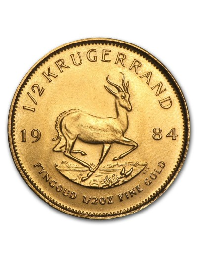 1/2 oz South African Krugerrands