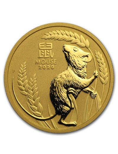 Australian Lunar Series Year of the Mouse Gold Coins