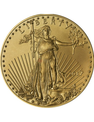 2017 American Gold Eagle Coin