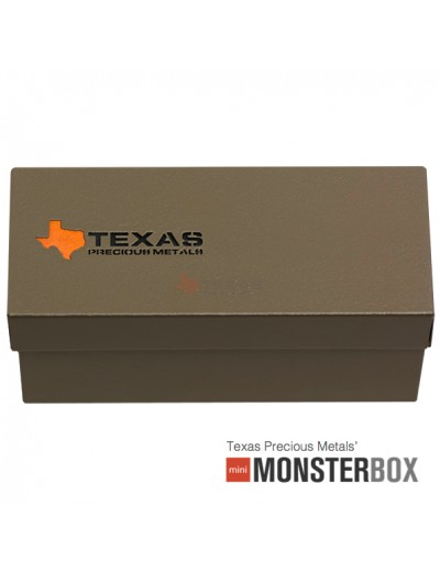 2017 Texas Silver Round Mini-Monster Box (250 ozs)