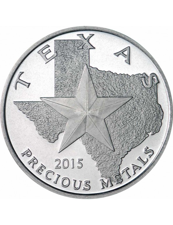 Buy 2015 Texas Silver Round Mini-Monster Box (250 ozs)