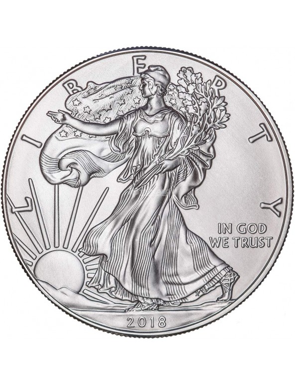 Buy 2018 American Silver Eagle Coin with Custom Box