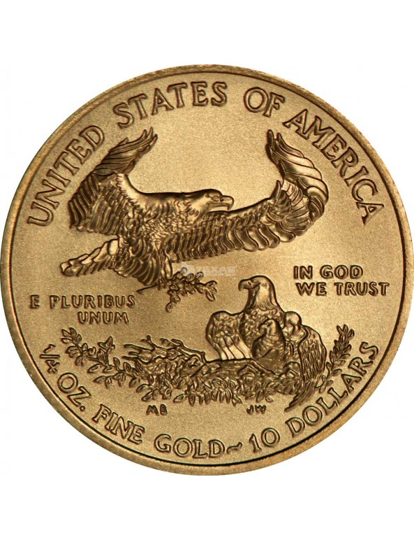 Buy 1/4 oz American Gold Eagle Coin (Any Year)