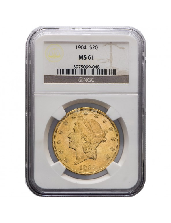 Buy $20 Liberty Gold Double Eagle - MS-61 PCGS/NGC (Dates Our Choice)