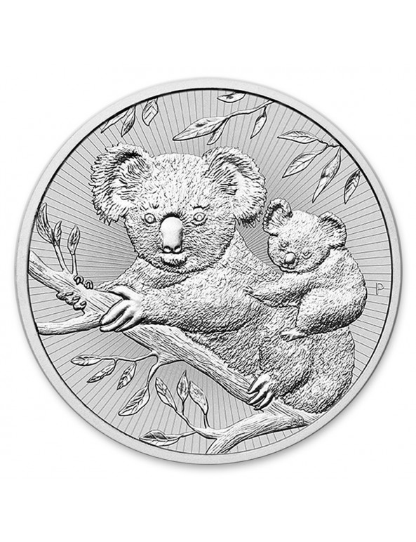 Buy 2 oz Australian Perth Mint Silver Koala Mother and Baby Coin
