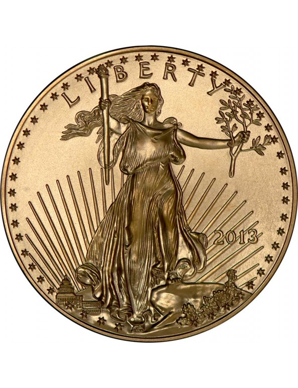 Buy 1/10 oz American Gold Eagle Coin (Any Year)