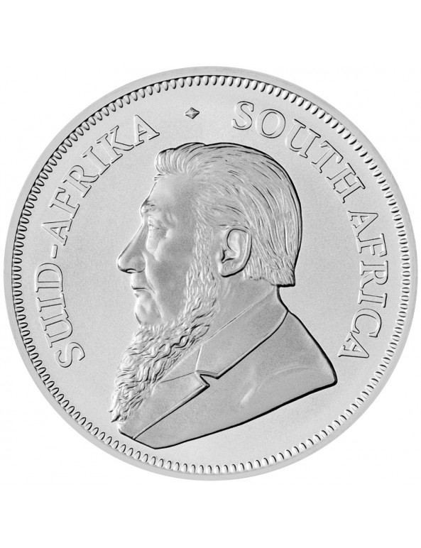 2018 South African Silver Krugerrand Obverse