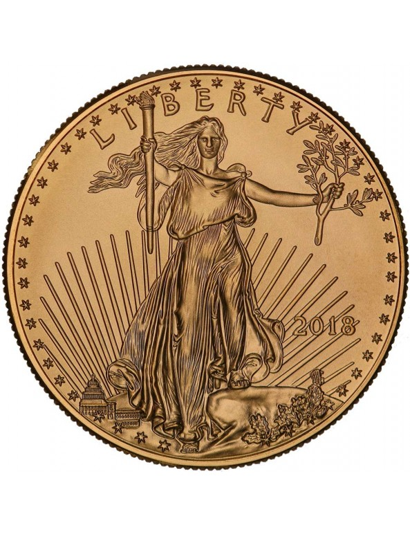 Buy 2018 American Gold Eagle Coin *Tube of 20*