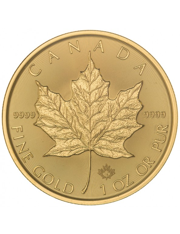 Buy 2018 Canadian Maple Leaf Gold Coin *Tube of 10*