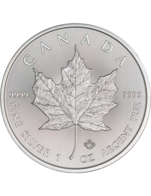 Buy 2018 Canadian Silver Maple Leaf Coin *Tube of 25*