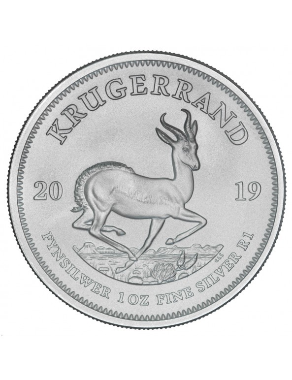 2019 South African Silver Krugerrand Monster Box