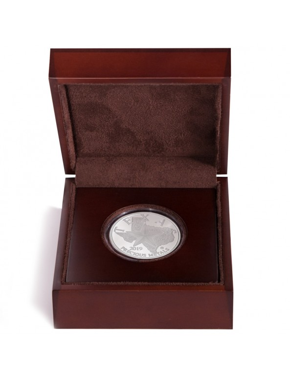 Buy 2019 Texas Silver Round with Wooden Display Case *Texas Edition*