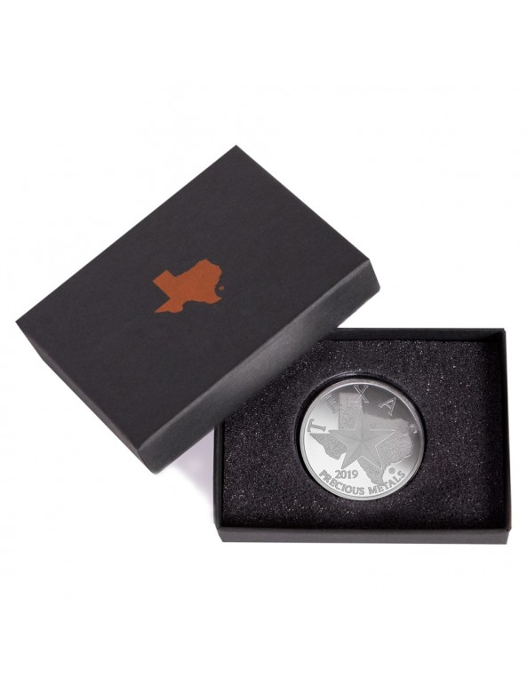 Buy 2019 Texas Silver Round with Custom Box