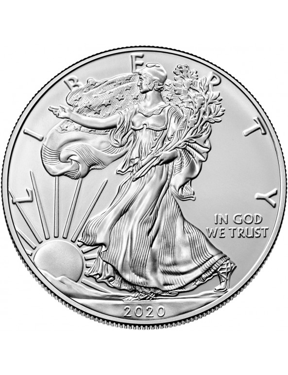 Buy 2020 American Silver Eagle Coin