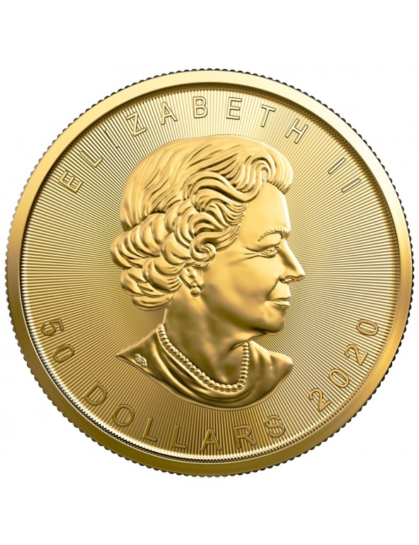 Buy 2020 Canadian Maple Leaf Gold Coin *Tube of 10*