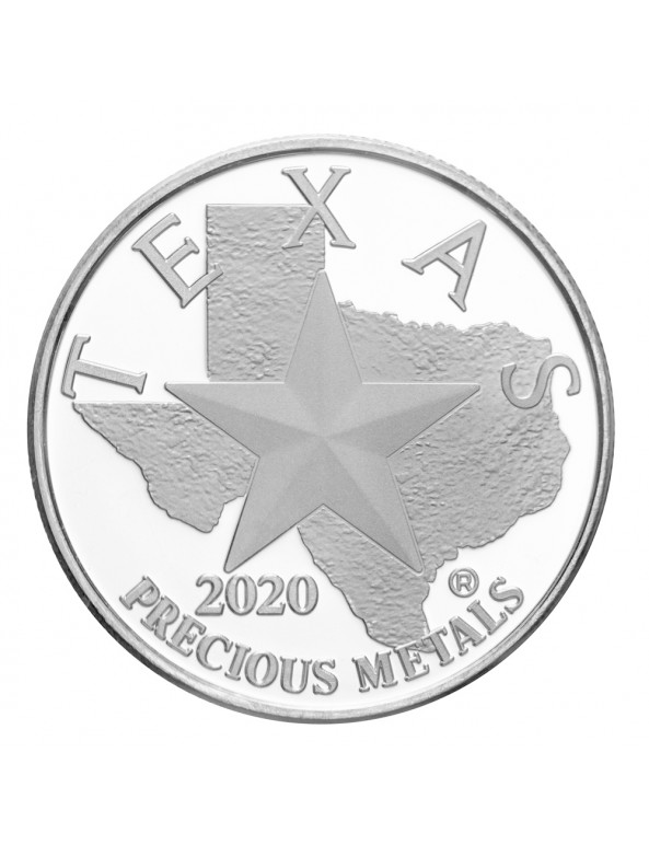 Buy 2020 Texas Silver Round Mini-Monster Box (250 ozs)