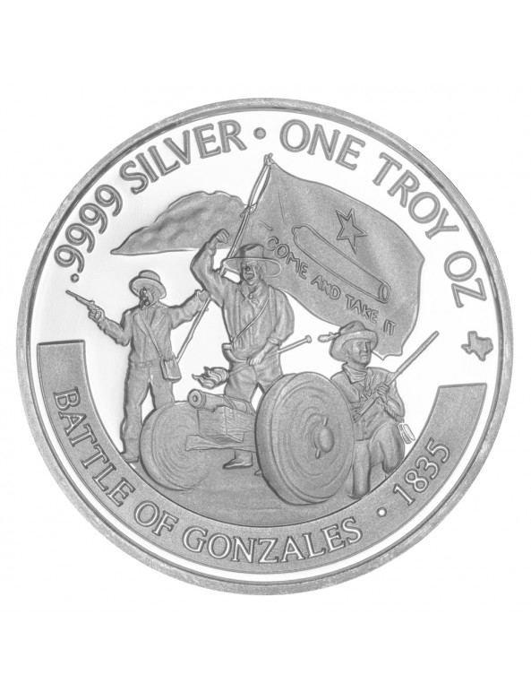 2020 Texas Silver Round with Booklet