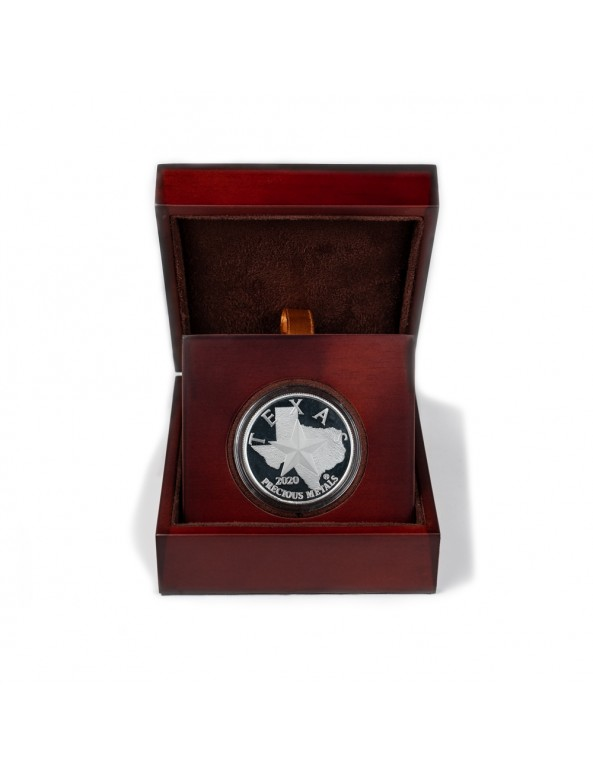 Buy 2020 Texas Silver Round with Wooden Display Case *Texas Edition*