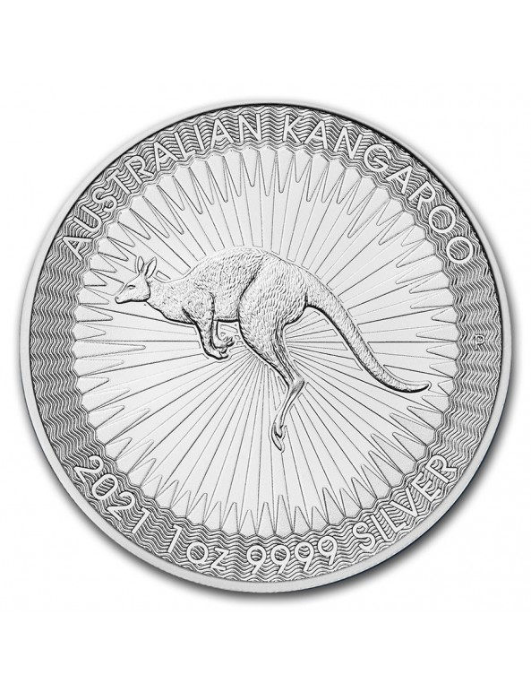Buy 2021 Perth Mint Silver Kangaroo Mini-Monster Box (SEALED)