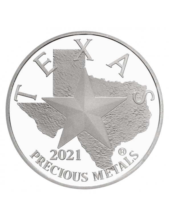 Buy 2021 Texas Silver Round Monster Box (SEALED)