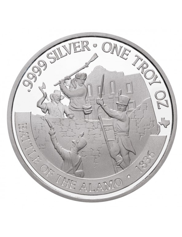 Buy 2021 Texas Silver Round