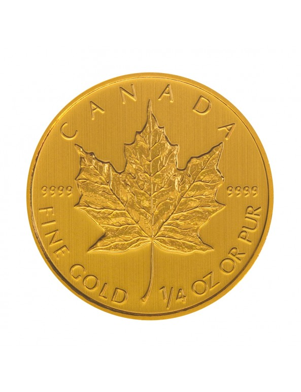 1/4 oz Canadian Maple Leaf Gold Coin