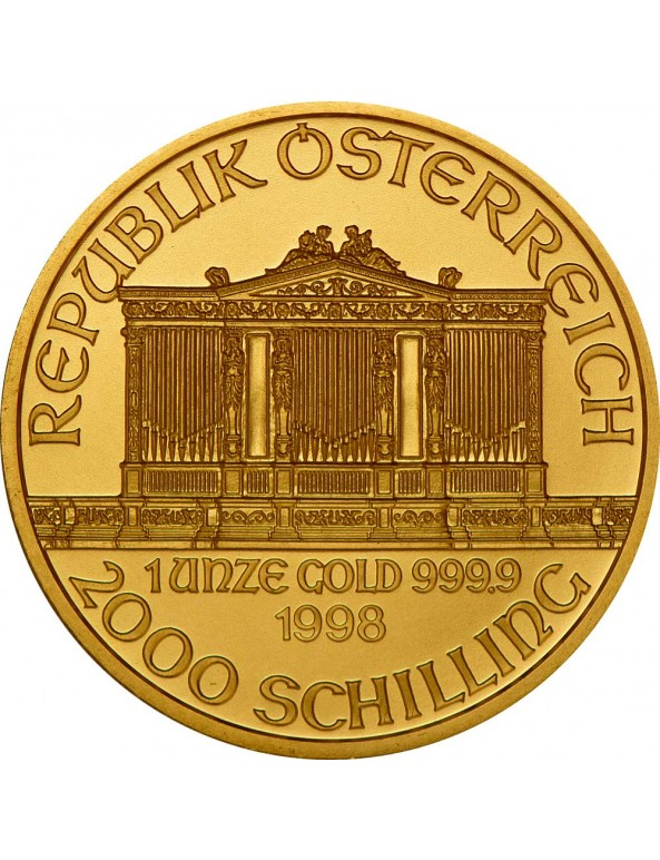 Buy Austrian Gold Philharmonic Coin (Any Year)